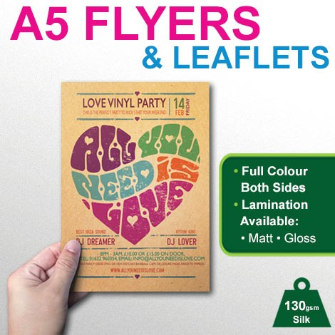 a5 flyer leaflet printing betterprinting